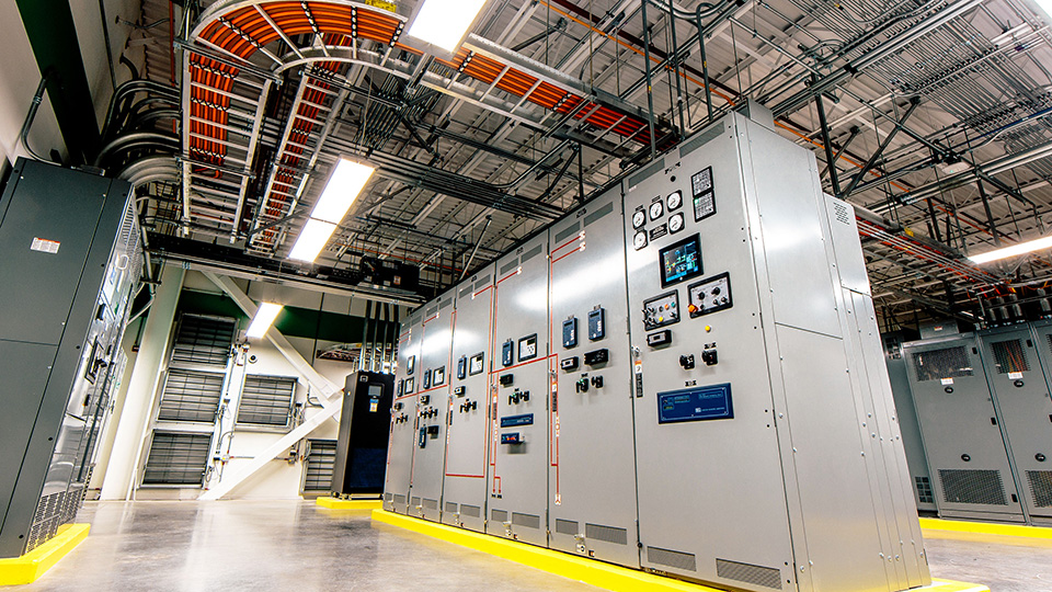 Oracle Electrical Rom Switchgear Lineup.