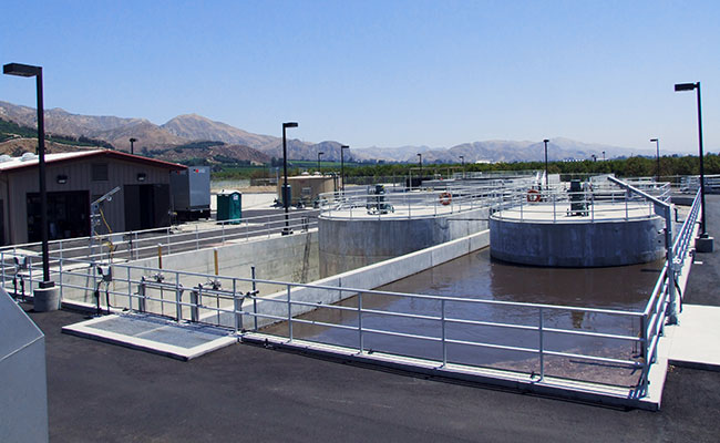 Water Treatment Plant Design : Piru wastewater treatment plant design build project