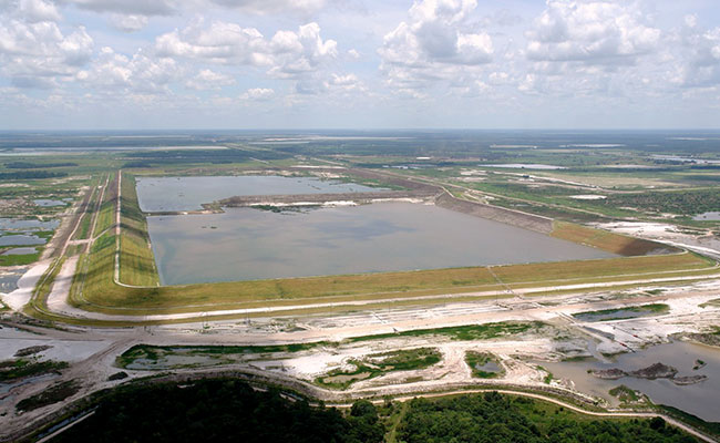 Florida Phosphate Beneficiation Tailings Impoundment