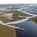 Canada's First Diamond Mine, NW Territories