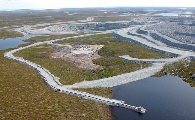 Canada's First Diamond Mine, NW Territories