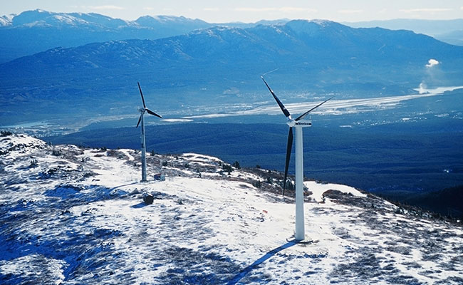 Yukon Energy Geotechnical Investigation Wind Project