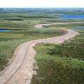 Circumpolar Inuvik to Tuktoyaktuk Highway