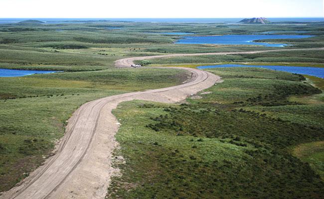 Designing The Inuvik Tuktoyaktuk Highway Tetra Tech