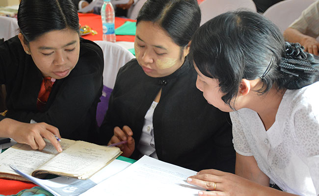 Tetra Tech is strengthening the legal profession to serve vulnerable groups in Myanmar