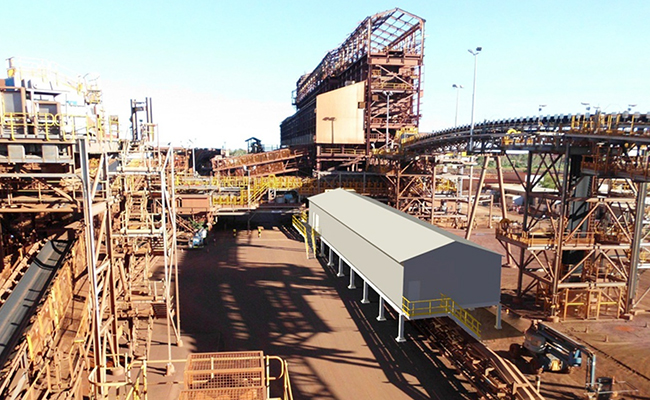 BHP Billiton Iron Ore Nelson Point Port