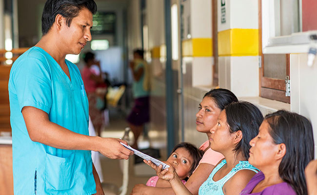 PRODES III helps reduce wait times for expectant mothers to access medical care.