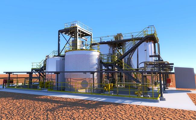 Gidji Roaster Cyanide Destruction Plant