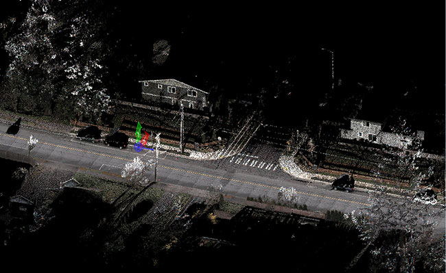 220th Street Mobile Mapping to Evaluate ADA Compliance