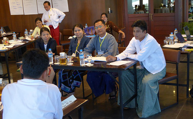 Public-private Partnership Best Practices Workshop in Naypyidaw, Myanmar