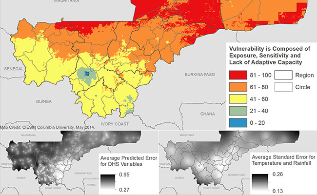 Vulnerability of populations to food and livelihood insecurity in Mali