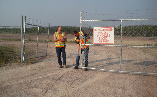Tetra Tech helped its client identify security measures to be corrected at the Wollaston Lake Airport
