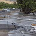 High tide flooding at Honoapi'ilani Highway, Olowalu, Maui