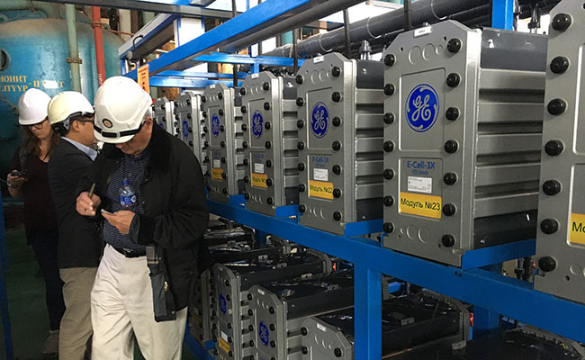 Tetra Tech evaluating GE Electrodialysis Water Treatment process for boiler feed water at a Combined Heat and Power Plan