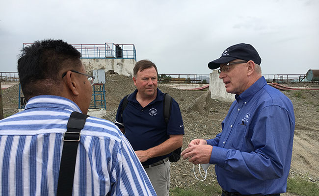 Tetra Tech water and wastewater treatment specialists advise Central Wastewater Treatment Plant owners in Ulaanbaatar, M