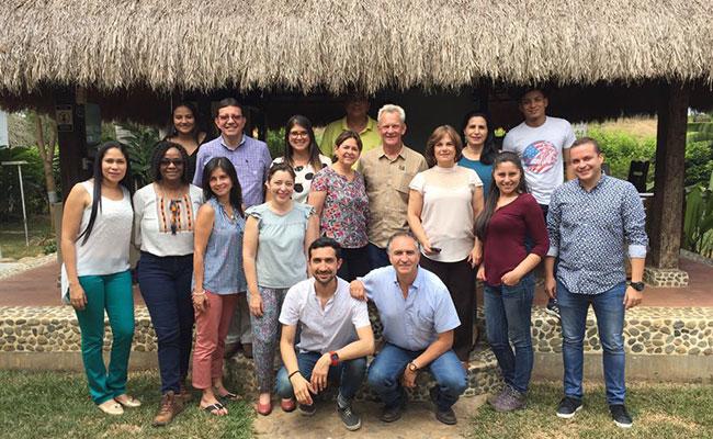 The CDLO/Territorios de Oportunidad Team in Caucasia, Department of Antioquia