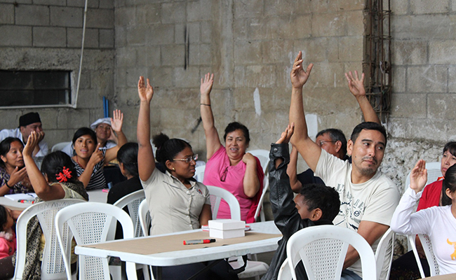 Tetra Tech is supporting citizen engagement, especially in at-risk communities like Altos de la Cruz, Amatitlán