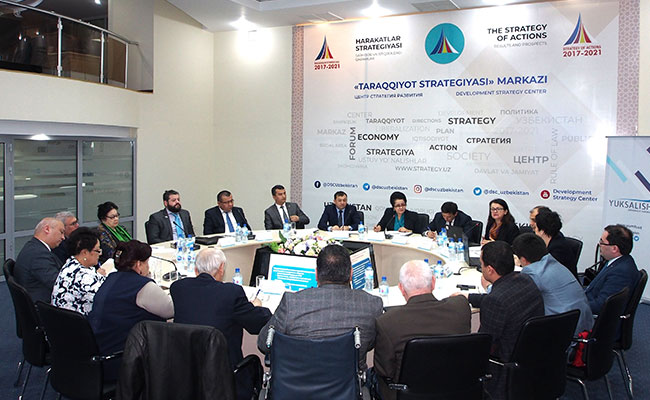 Tetra Tech supports roundtable discussion on civil society development in Uzbekistan with CSOs and government