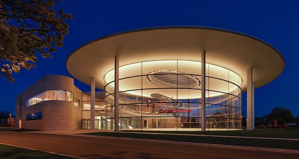 "SC Johnson's ""Project Honor"" museum in Racine, Wisconsin"