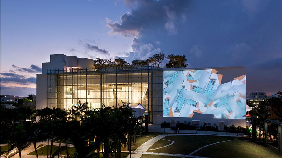 New World Symphony in Miami, Florida.