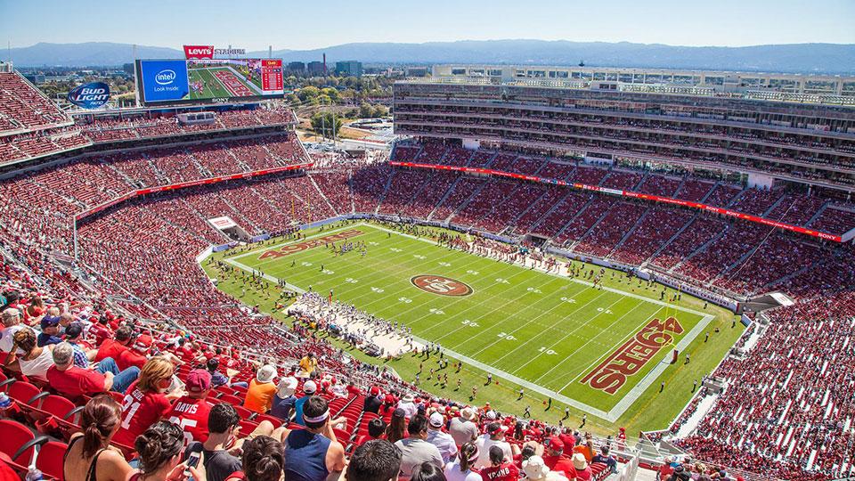 Levi's Stadium in Santa Clara, California