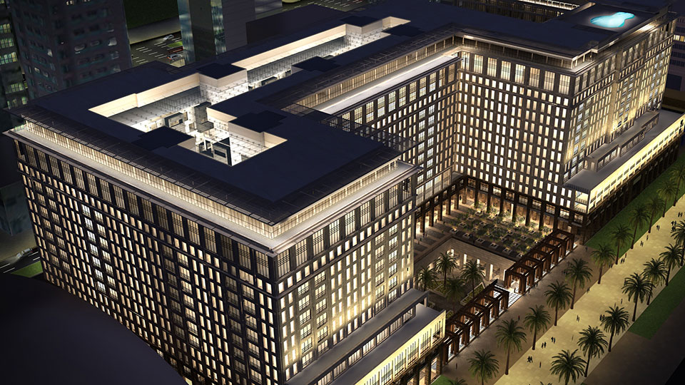 Tetra Tech's High Performance Buildings Group provided services for the Ritz Carlton in Dubai.