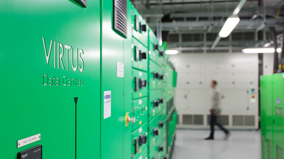 Tetra Tech provided services to develop London's data center, Virtus.