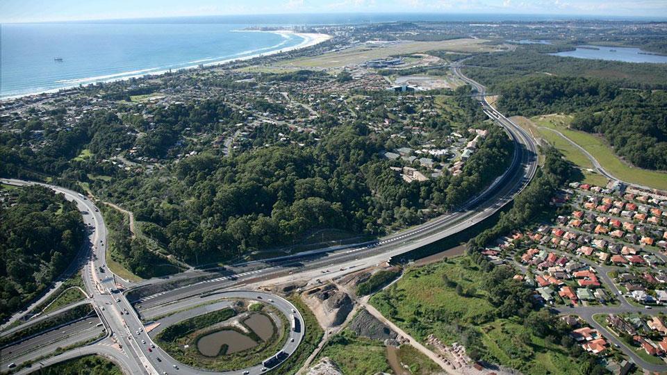 Tetra Tech provided design services for Tugun Motorway and Tunnel in Queensland, Australia.