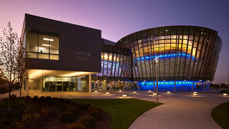 Griffin Hall Center for Informatics at Northern Kentucky University.