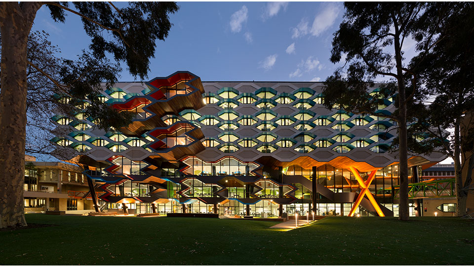 Tetra Tech's High Performance Buildings Group served as the sustainability consultant for the building of La Trobe.