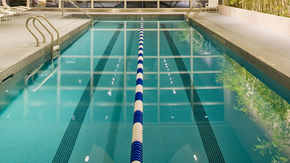 The Visionaire pool