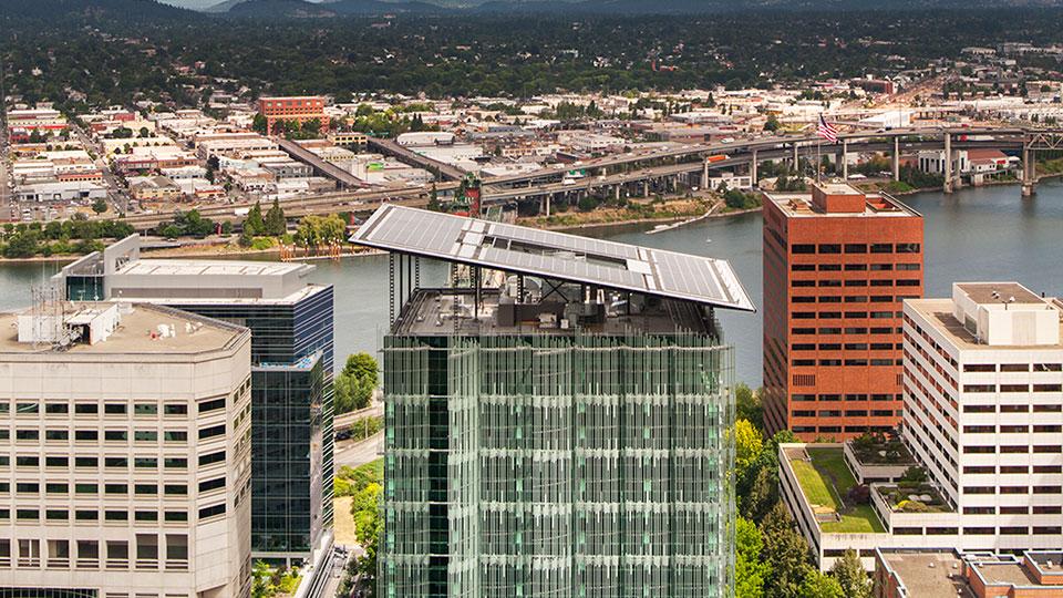 Edith Green-Wendell Wyatt Federal Building in Portland, Oregon