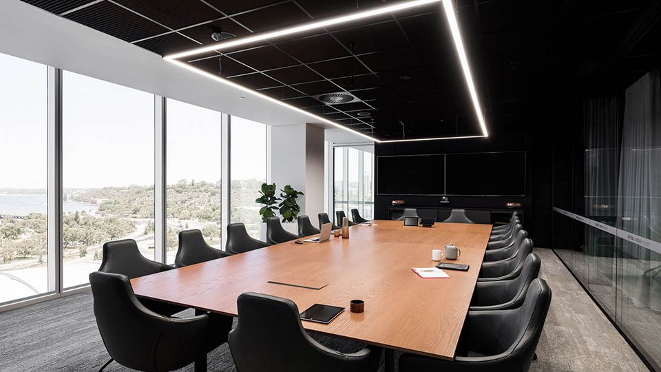 Dentsu Aegis Network meeting room