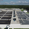 Six new biological treatment trains at the Hillsborough County Northwest Regional Water Reclamation Facility in Florida