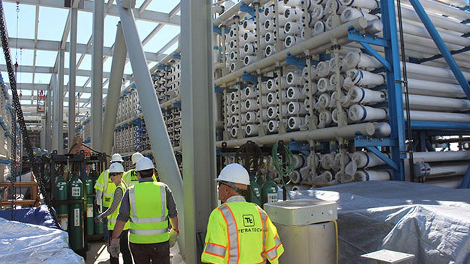 "Claude ""Bud"" Lewis Carlsbad Seawater Desalination Plant Reverse Osmosis Racks"
