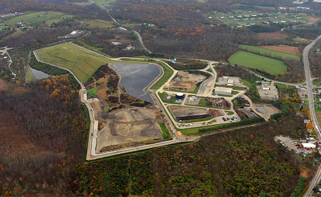Tetra Tech's six-stage expansion of the landfill footprint and incorporation of an MSE berm