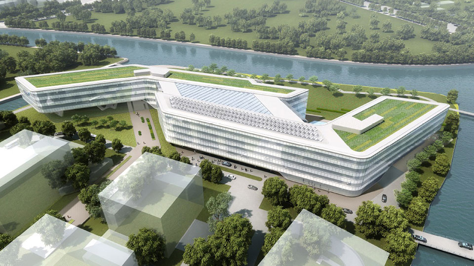Tetra Tech provided services for the new Johnson Controls headquarters in Shanghai, China.