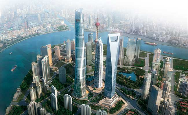 Shanghai Tower, the tallest building in China