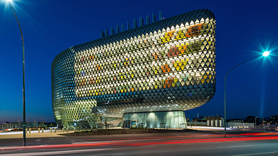 Tetra Tech provided high performance buildings services for the South Australian Health and Medical Research Institute.