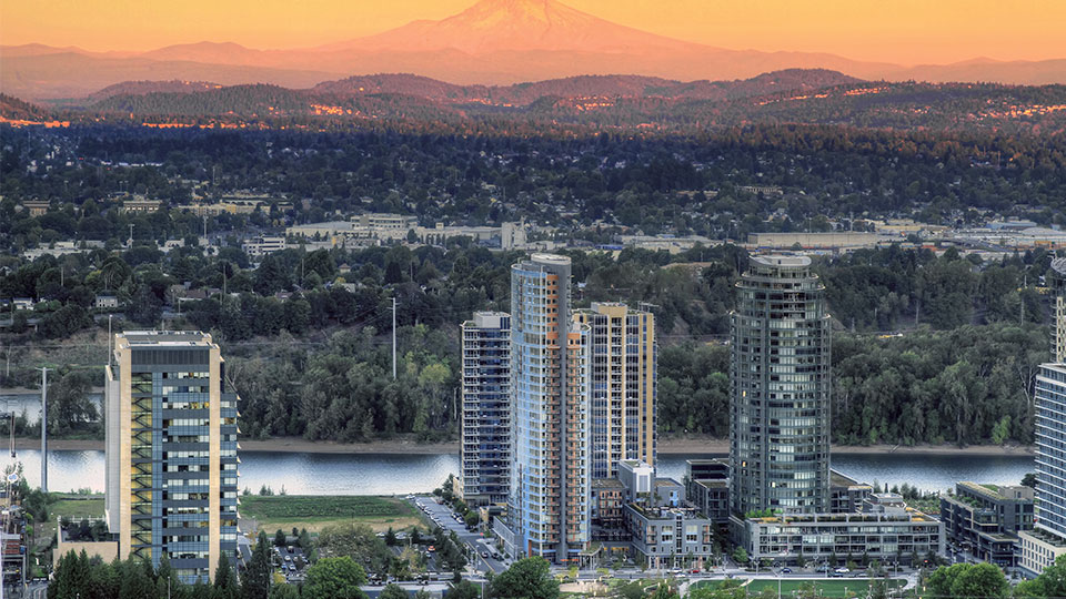 Tetra Tech designed Portland's Sustainable Urban Community in South Waterfront.
