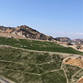 Turf installation for the landfill capping project at Sunshine Canyon Landfill by Tetra Tech