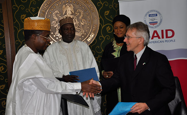 USAID acknowledges the SUWASA program's work with countries such as Mozambique, Liberia, South Sudan, Kenya, and Nigeria