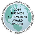 Environmental Business Journal (EBJ) recognized Tetra Tech with three industry awards for the company's work during 2019