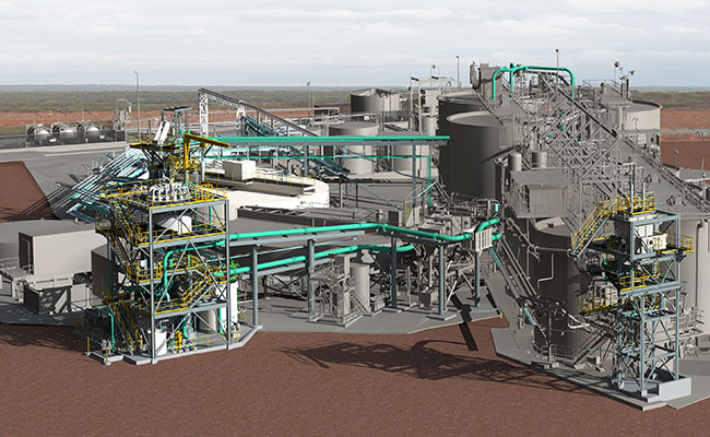 Tetra Tech used Bentley's AECOsim Building Designer to create a comprehensive, detailed 3D model of the plant.