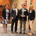 Tetra Tech receives the SAME 2018 J.W. Morris Sustaining Member Award