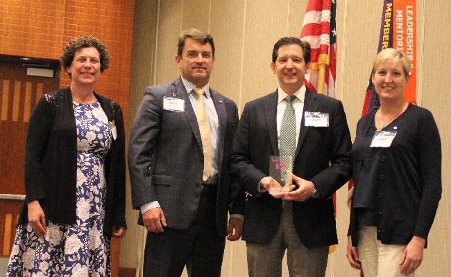 Tetra Tech receives the SAME 2018 J.W. Morris Sustaining Member Award