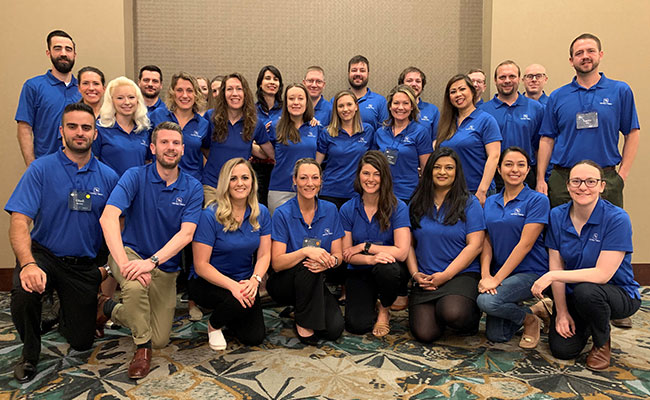 Tetra Tech's 2019 Leadership Academy cohort is expanding their understanding of Tetra Tech's global operations and honin