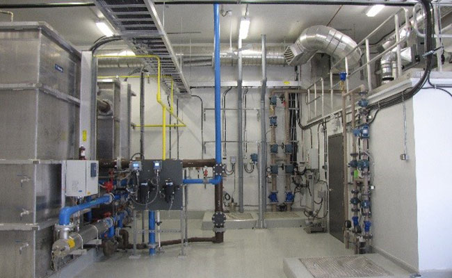 South Tallcree new community water treatment facility with expansion capability