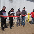 Tallcree First Nation ribbon cutting ceremony for opening of the new community water treatment plant