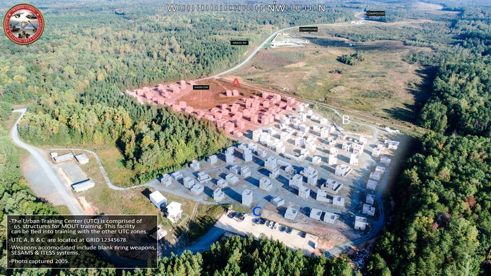 USMC Urban Training Center for Military Operations on Urbanized Terrain training